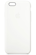 Apple COQUE SILICONE BLANCHE POUR IPHONE 6