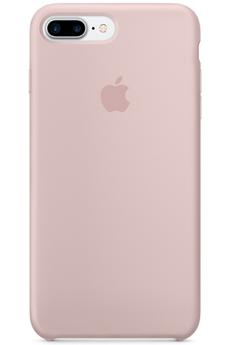 Housse pour iPhone Coque en silicone iPhone 7 Plus Rose des sables Apple