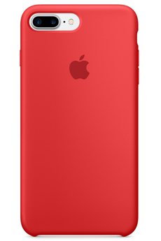 Housse pour iPhone Coque en silicone iPhone 7 Plus (PRODUCT)RED Apple
