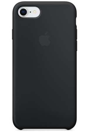 iphone 8 coque silicone noir