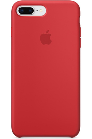 coque silicone rouge iphone 8