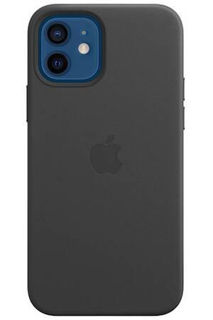 Coque en cuir MagSafe pour iPhone 12 mini - Black