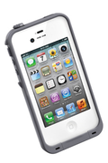 Lifeproof Coque étanche pour iPhone 4S Blanc/Gris