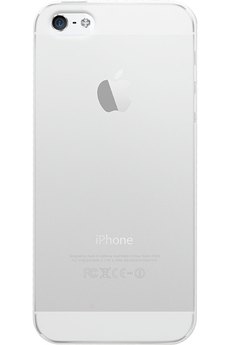 Housse pour iPhone COQUE DE PROTECTION TRANSPARENTE POUR IPHONE SE Bigben