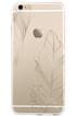 Housse pour iPhone COQUE DE PROTECTION TRANSPARENTE AVEC PLUMES DOREES POUR IPHONE 7 Bigben