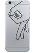 Housse pour iPhone COQUE DE PROTECTION TRANSPARENTE DESIGN STREET POUR IPHONE 7 Bigben
