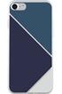 Housse pour iPhone COQUE DE PROTECTION TRIANGLES BLEUS POUR IPHONE 7 Bigben