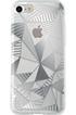 Housse pour iPhone COQUE DE PROTECTION GRAPHIQUE ARGENT POUR IPHONE 7 Bigben