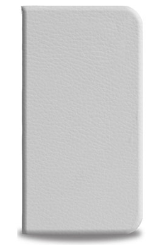Housse pour iPhone ETUI SLIM FOLIO BLANC Blueway