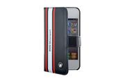 Bmw Etui Folio BMW Motor Sport Bleu pour iPhone 4/4S