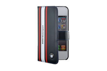Housse pour iPhone Etui Folio BMW Motor Sport Bleu pour iPhone 4/4S Bmw