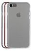 Housse pour iPhone PACK COQUE DE PROTECTION + 3 BUMPER GRIS POUR IPHONE 7 Case Scenario