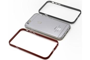 Housse pour iPhone PACK COQUE DE PROTECECTION + 3 CONTOUR DE COULEUR marron, gris ET ARGENT POUR IPHONE 6/6S Case Scenario