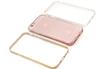Housse pour iPhone PACK COQUE DE PROTECECTION + 3 CONTOUR DE COULEUR ROSE, OR ET ARGENT POUR IPHONE 6/6S Case Scenario