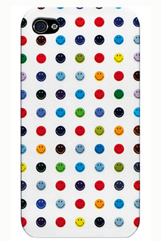 Housse pour iPhone Coque Smiley pour iPhone 4/4S Case Scenario