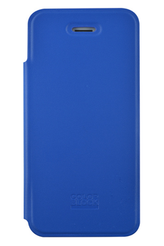 Housse pour iPhone Folio bleu Colorblock iPhone 5/5S Colorblock