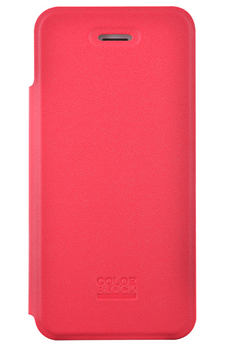 Housse pour iPhone ETUI FOLIO ROUGE POUR IPHONE 4/4S Colorblock