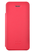 Colorblock ETUI FOLIO ROUGE COLORBLOCK POUR IPHONE 5/5S