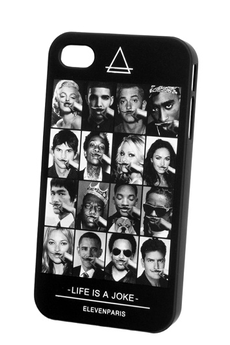 Housse pour iPhone COQUE ALL FACES IPHONE 4/4S Eleven Paris