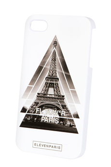 Housse pour iPhone Coque Tour Eiffel iPhone 4/4S Eleven Paris