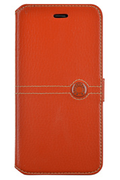 Faconnable ETUI FOLIO ORANGE POUR IPHONE 6