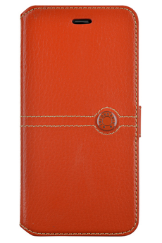 Housse pour iPhone ETUI FOLIO ORANGE POUR IPHONE 6 Faconnable