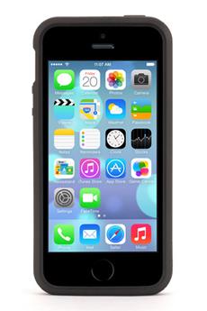 Housse pour iPhone COQUE GRAPHITE NOIR ET BLANCHE POUR IPHONE 5/5S Griffin
