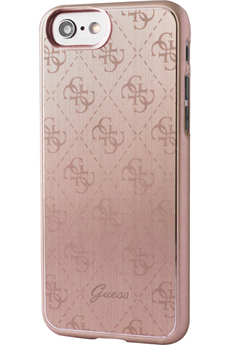Housse pour iPhone COQUE GUESS ROSE POUR IPHONE 7 Guess