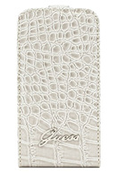 Guess ETUI CROCO BEIGE IPHONE 5/5S