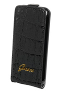 Guess ETUI CROCO NOIR IPHONE 5/5S