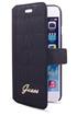 Housse pour iPhone ETUI FOLIO CROCO NOIR POUR IPHONE 6/6S Guess