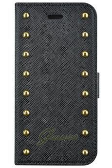 Housse pour iPhone Folio iPhone 5S noir Guess