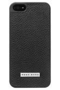 Hugo Boss COQUE CUIR NOIR POUR IPHONE 5/5S