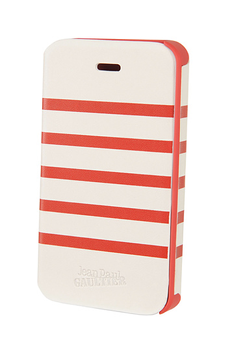 Housse pour iPhone Etui Marin Rouge/Blanc iPhone 4/4S Jean-Paul Gaultier Jpg