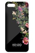 Housse pour iPhone Kenzo COQUE EXOTIC NOIR IPHONE 5/5S
