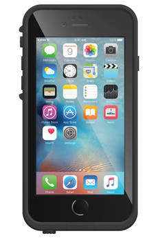 Housse pour iPhone COQUE DE PROTECTION NOIRE LIFEPROOF FRE POUR IPHONE 6 PLUS/6S PLUS Lifeproof
