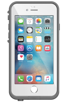 Housse pour iPhone COQUE DE PROTECTION BLANCHE LIFEPROOF FRE POUR IPHONE 6 PLUS/6S PLUS Lifeproof
