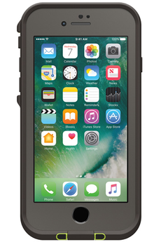 Housse pour iPhone COQUE DE PROTECTION FRE GRISE POUR IPHONE 7 Lifeproof