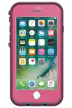 Housse pour iPhone COQUE DE PROTECTION FRE ROSE POUR IPHONE 7 Lifeproof
