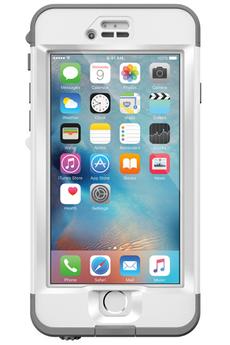 Housse pour iPhone COQUE DE PROTECTION BLANCHE LIFEPROOF NUUD POUR IPHONE 6 PLUS/6S PLUS Lifeproof