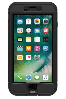 Housse pour iPhone COQUE DE PROTECTION NOIRE LIFEPROOF NUUD POUR IPHONE 7 Lifeproof