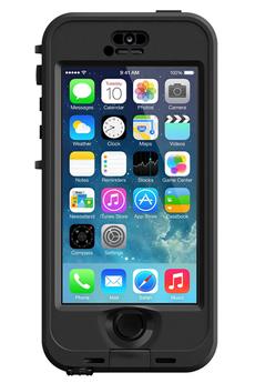 Housse pour iPhone COQUE NUUD ETANCHE NOIR POUR IPHONE 5/5S/SE Lifeproof