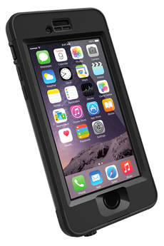 Housse pour iPhone COQUE DE PROTECTION NOIR LIFEPROOF NUUD POUR IPHONE 6 Plus Lifeproof