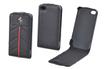 Ferrari Etui à rabat Ferrari en cuir noir pour iPhone 4/4S photo 1