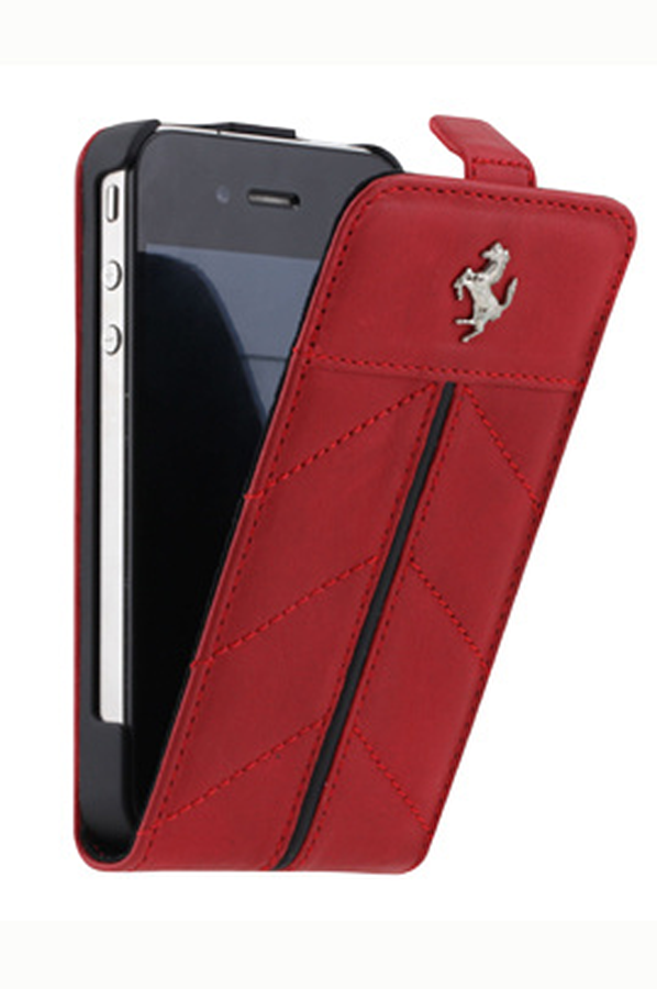 Housse pour iphone ferrari etui ferrari pour iphone 4 4s for Etui housse iphone 4