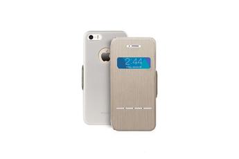 Housse pour iPhone Coque de protection SenseCover titanium pour Iphone 5/5S Moshi
