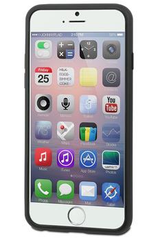 Housse pour iPhone COQUE DE PROTECTION NOIRE POUR IPHONE 6 PLUS/6S Plus Muvit