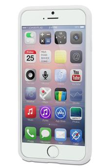 Housse pour iPhone COQUE DE PROTECTION BLANCHE POUR IPHONE 6 PLUS/6S Plus Muvit