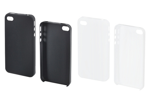 Housse pour iphone muvit pack 2 coques iphone 4 4s pack for Housse ipod shuffle