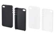 Muvit Pack 2 coques iPhone 4/4S